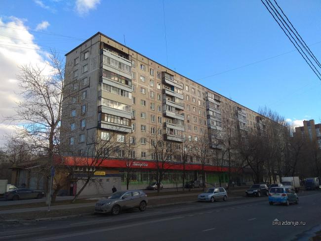 Москва, улица Гурьянова, дом 3, Серия: I-515/9М (ЮВАО, район Печатники)
