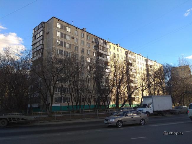 Москва, улица Гурьянова, дом 1, Серия: II-49 Д (ЮВАО, район Печатники)