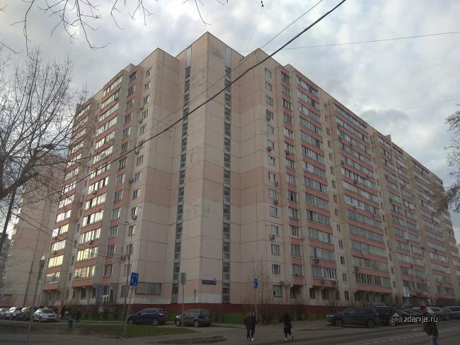 Новороссийская улица, дом 24, корпус 1 (ЮВАР, район Люблино)