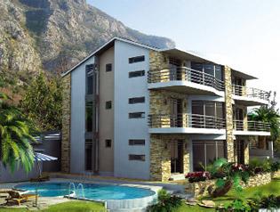 клубный дом с бассейном