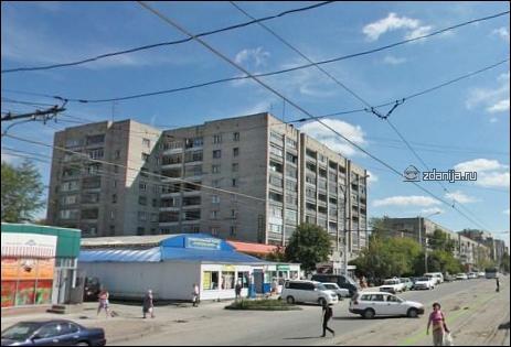 определить серию дома - Новосибирск, Учительская улица