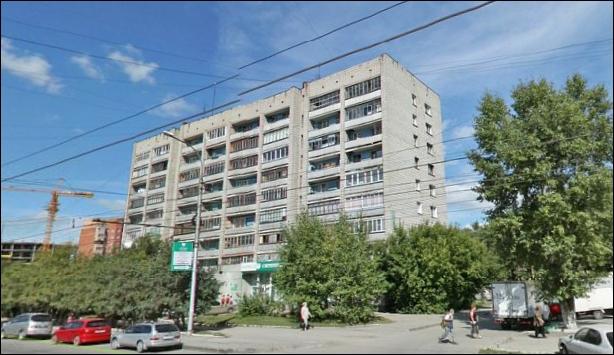 Помогите определить серию дома - Новосибирск, Учительская улица.