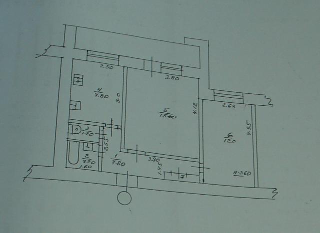 планировка двухкомнатной квартиры 87-я серия домов