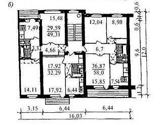 серия 85. типовой проект 114-85-2 (отр.адм.) ДОМ