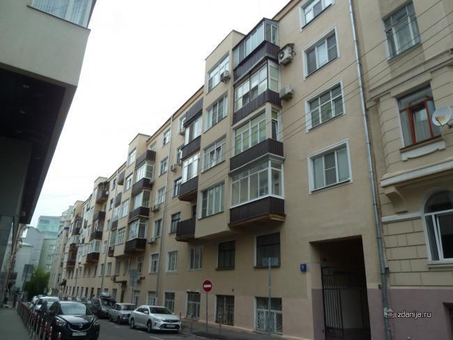 Москва, Большой Сергиевский переулок, дом 9 (ЦАО, район Мещанский)
