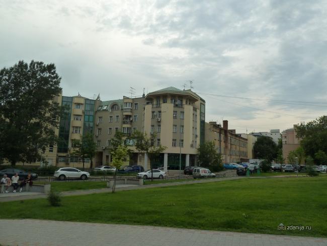 Москва, Малый Сухаревский переулок, дом 4 корп 2