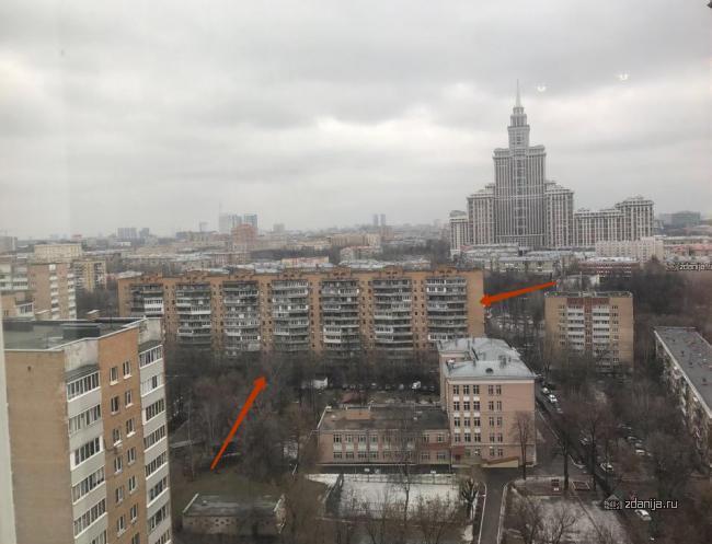 А что за дом кирпичный в районе Алабяна-Панфиловская?