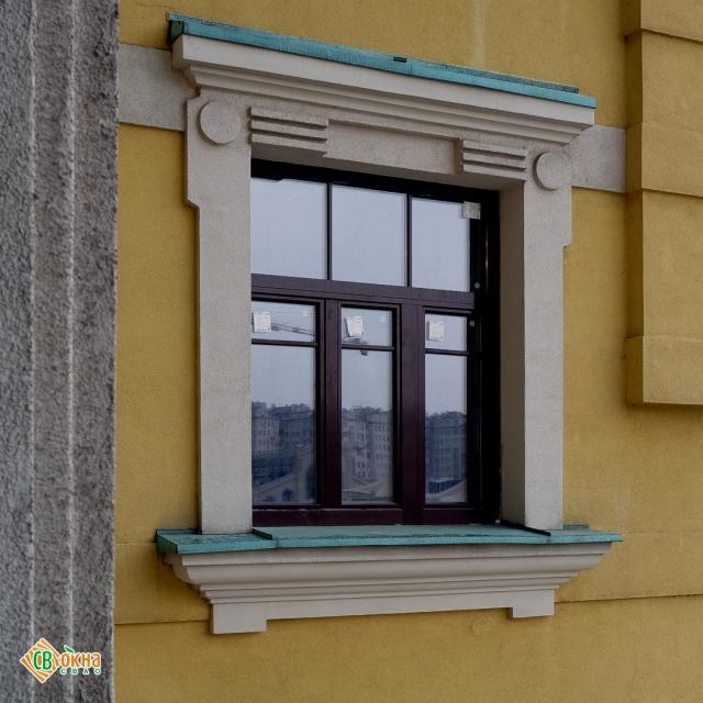 Акция на деревянные окна со стеклопакетом!
