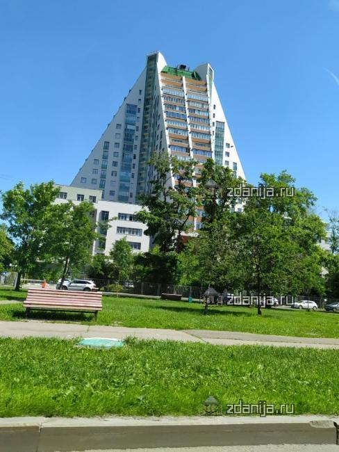 Москва, улица Дмитрия Ульянова дом 31 ЖК Пирамида (индивидуальный проект)