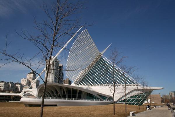 "The Milwaukee Art Museum"" в Милуоки"