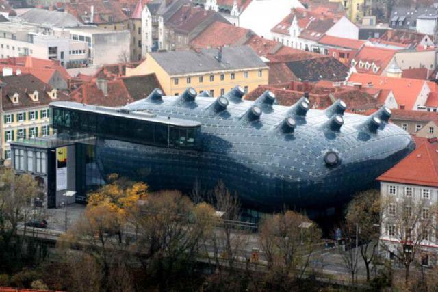 """Kunsthaus"" Грац."