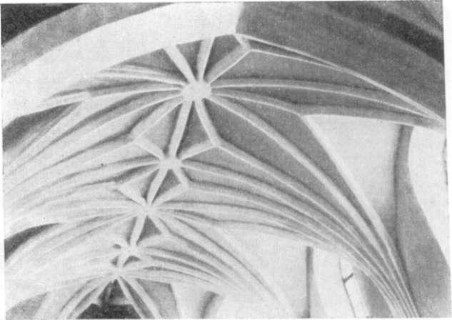 Своды хора францисканского костела