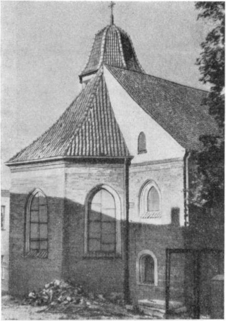 Восточный фасад костела св. Николая
