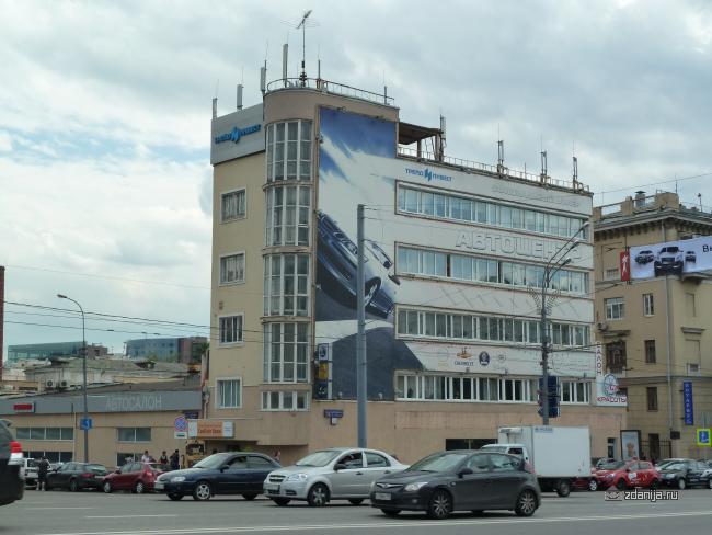 Конструктивистский дом - Шлюзовая набережная, дом 2/1 корп. 5, Москва