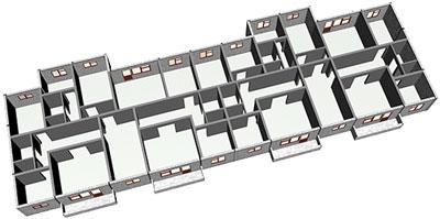 планировка квартир 97 серия, панельные дома