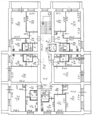 1-447С-42 планировки квартир