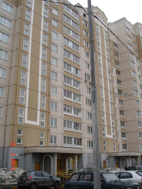 П-46М дома в районе Некрасовка: ул. 1-ая Вольская, д.10 и ул. 1-ая Вольская, д.12 к.1