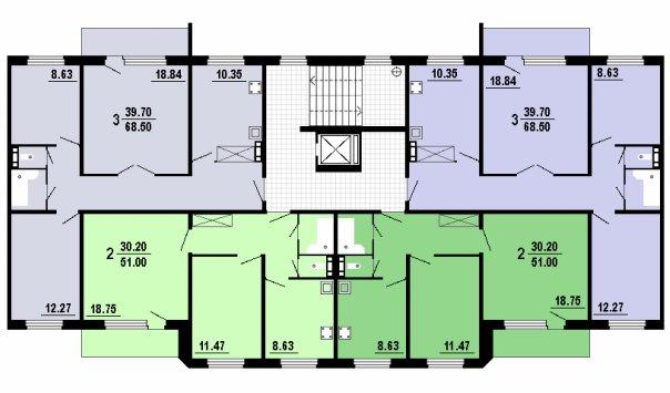 планировки п-101