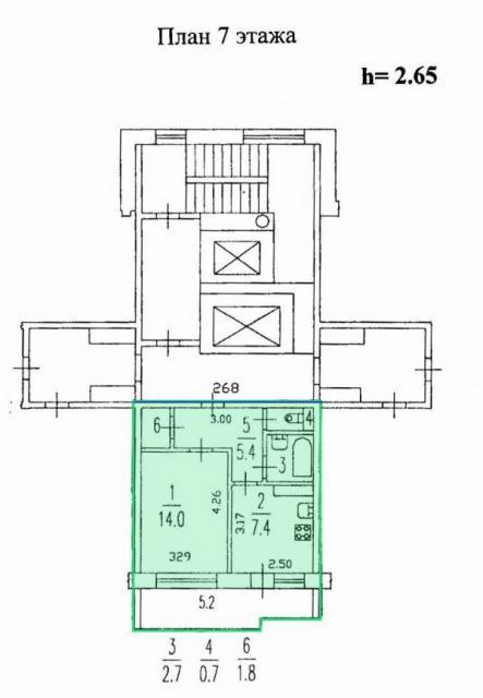 Планировка квартир ленинградской серии