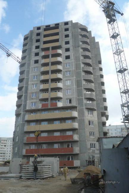 16-этажная свечка по ул. Дубравная