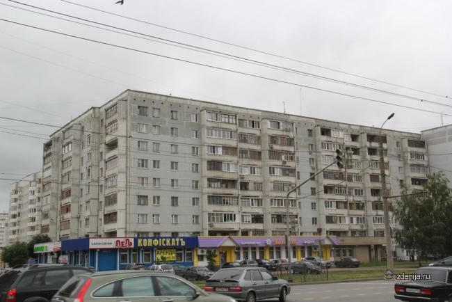 Казань Фучика 96 панельный дом серия 125