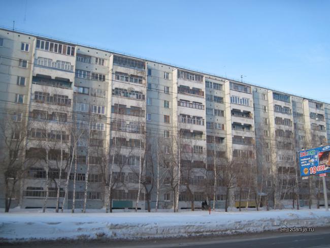 Казань Сафиуллина панельный дом серия 125