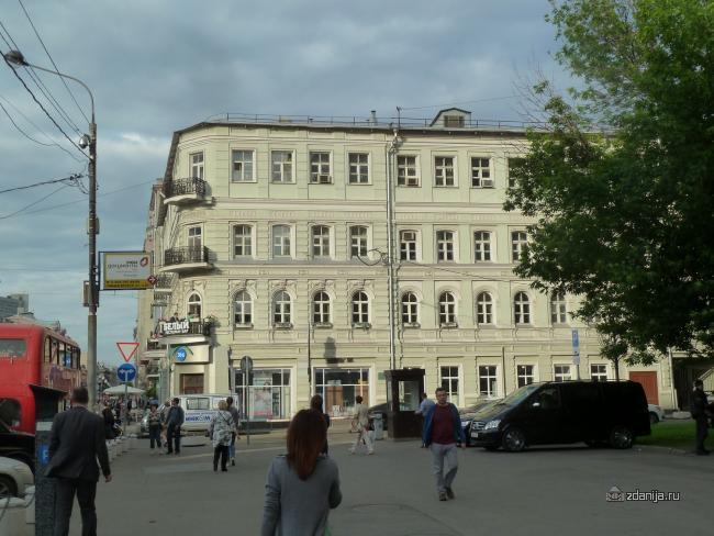 Москва, Денежный переулок, 32, ЦАО, Арбат