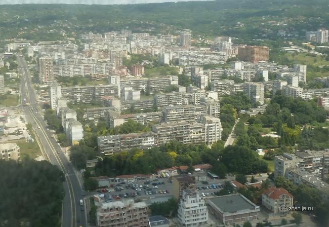 Серии крупнопанельных домов в Болгарии