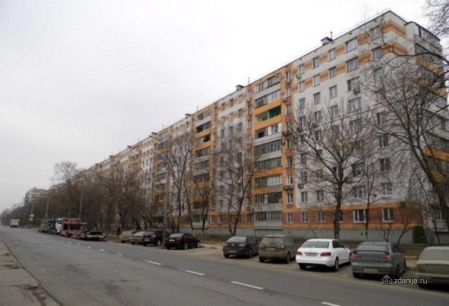 Москва, Полбина ул., д.60, серия II-49Д (ЮВАО, район Печатники)