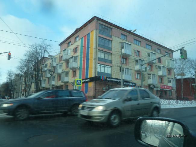 Ярославль, кирпичная пятиэтажка