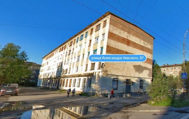 Серия 1-446С (отр.адм.) Мурманск, ул. Александра Невского 87