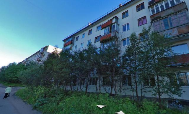 Серия 1-464А (отр.адм.) г. Мурманск, ул. Инженерная дом 8 серия дома