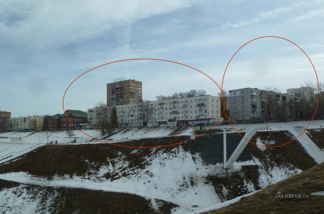 Многоподъезные пятиэтажки в Нижнем Новгороде