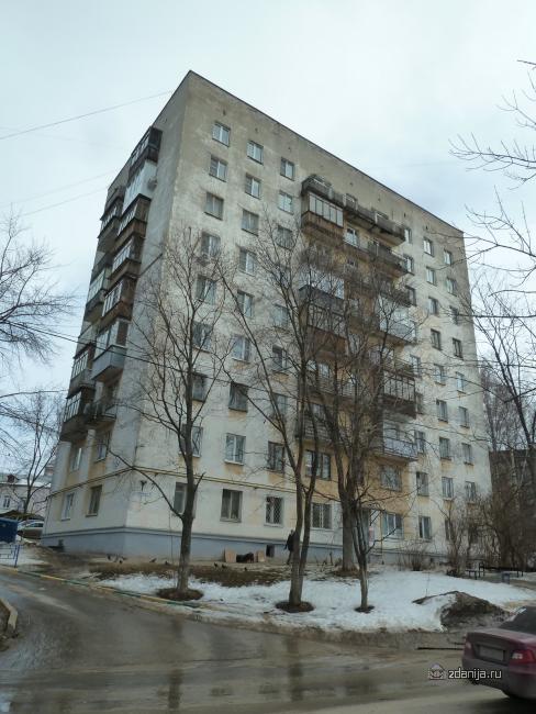 Панельная девятиэтажка, Нижний Новгород, ул. Заломова 7