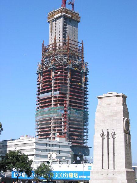 строительство небоскрёба Второй международный финансовый центр International Finance Centre (IFC)