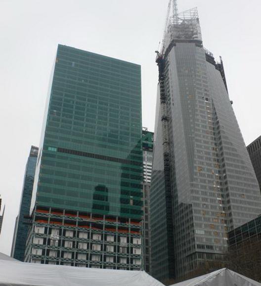 строительство небоскрёба Банк Америки