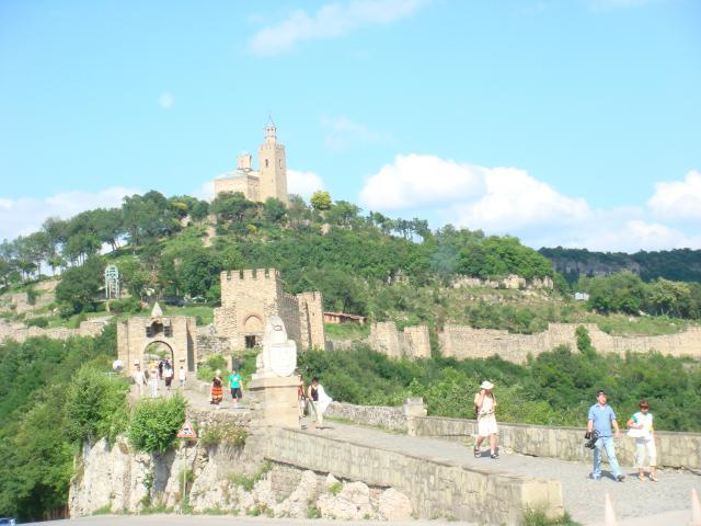 5. Крепость г. Велико Тырново (XII век).