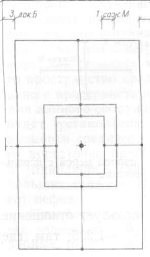 4. Предполагаемый «вавилон» Елецкой церкви,  построенный на отношении  золотого сечения