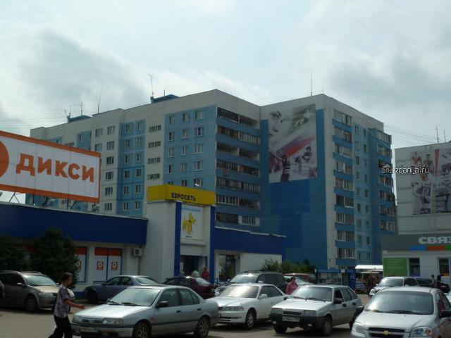 панельный рядом с магазином Дикси Чехов