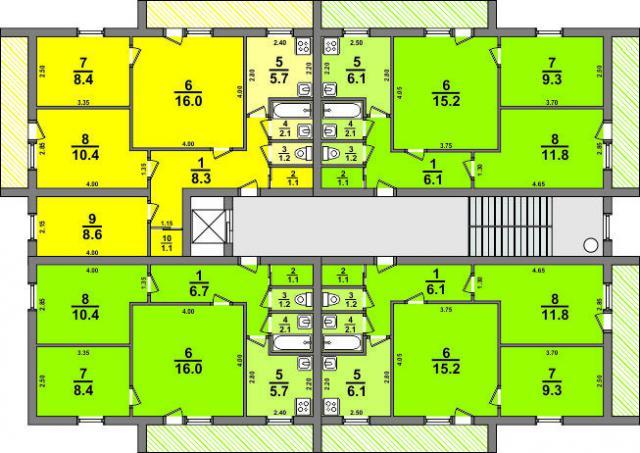 Хрущёвка серии 1-438-6 и башня 1-447-С-41 (отред.адм.) Какая серия дома?