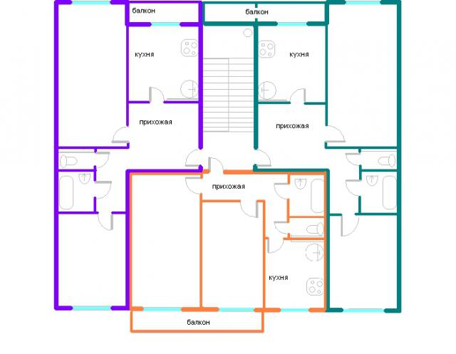 Дома серии 111-121, планировки квартир