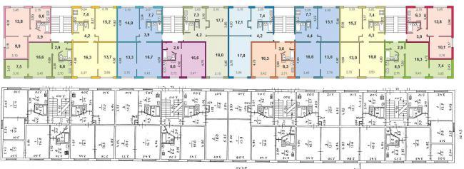 Дома серии 1-467А планировки квартир