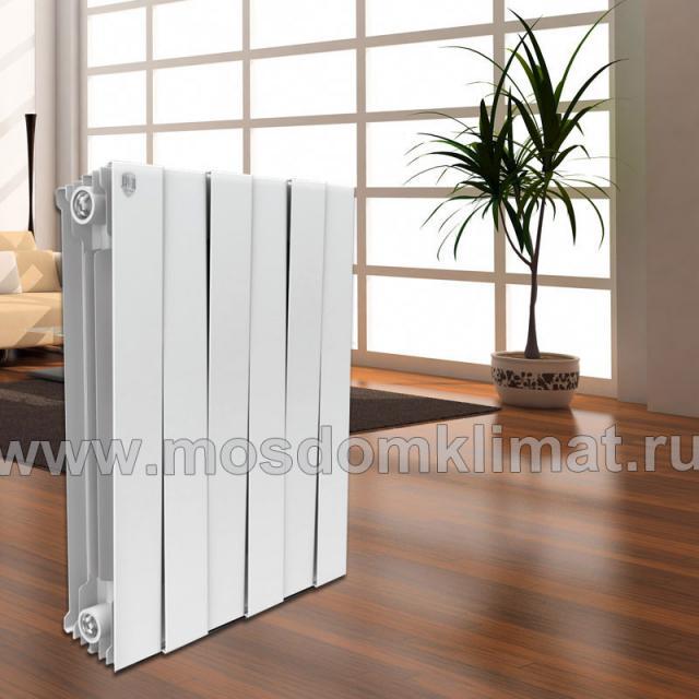 биметаллический дизайн-радиатор PIANOFORTE