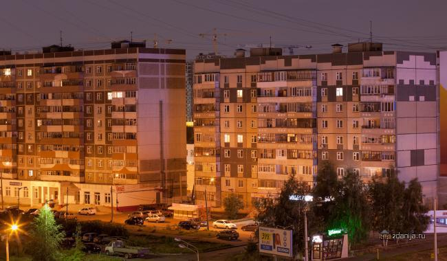 121 и 90 серия домов, Казань, ул. Сахарова