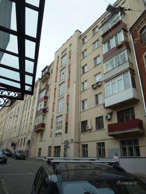 Москва, Пушкарев пер., дом 8 (ЦАО, район Мещанский)
