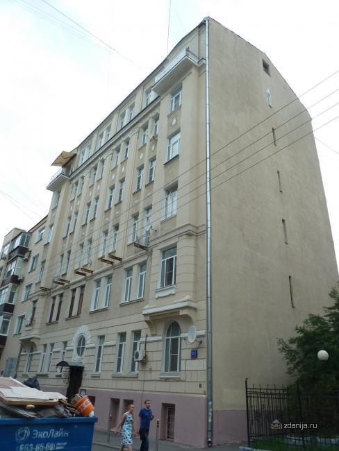 Москва, Сергиевский Большой переулок, дом 11 (ЦАО, район Мещанский)