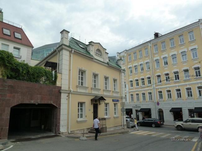 Москва, Большой Головин переулок дом 2 (ЦАО, район Мещанский)