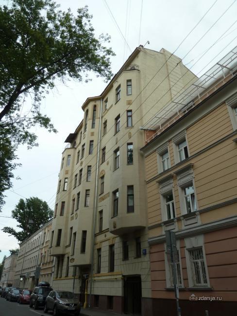 Москва, Пушкарев пер., д.18 (ЦАО, район Мещанский)
