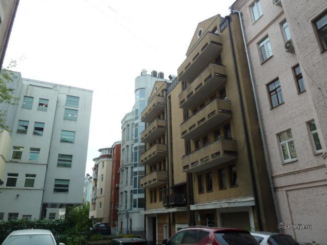 Москва, Большой Головин пер., д.12, к.2 (ЦАО, район Мещанский)