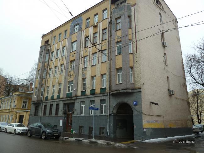 Москва, Александра Солженицына ул., д.14, к.1 (ЦАО, район Таганский)